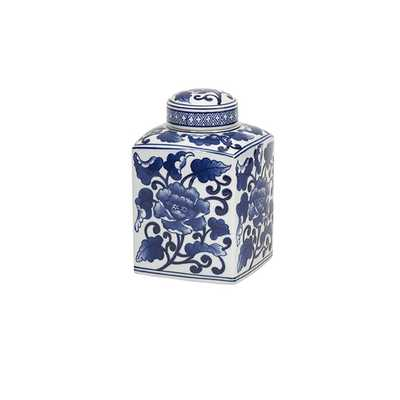 Tollmache Small Lidded Jar - Mercer Collection