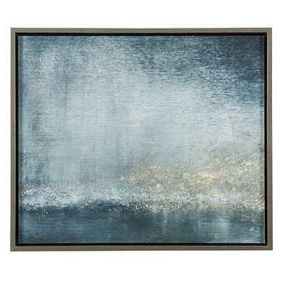 Twilight On The Seine Abstract Art - Framed - No Mat - Ballard Designs