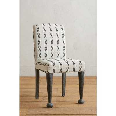Cross-Stitched Dining Chair [REGULAR] - Anthropologie