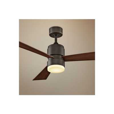 "Fanimation Zonix Ceiling Fan - 54"" Oil Rubbed Bronze - Lamps Plus"