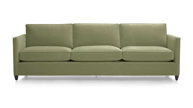 "Dryden 3-Seat 103"" Grande Sofa - Crate and Barrel"
