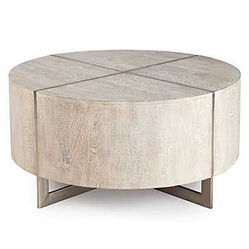 Clifton Round Coffee Table - Z Gallerie