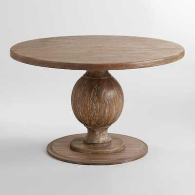 Round Blanca Table - World Market/Cost Plus