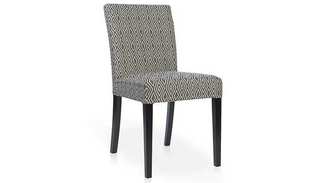 Lowe Diamond Upholstered Dining Chair - Crate and Barrel