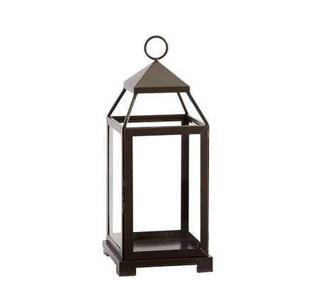 Malta Lantern - Bronze Finish - Medium - Pottery Barn