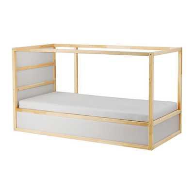 Kura - Reversible Bed -  White -  Pine - Ikea