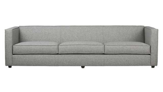 Club grey 3-seater sofa - Taylor grey - CB2