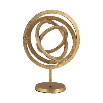 Aluminum Rings Sculpture - Rosen Studio