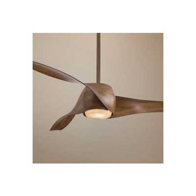 "Minka Aire Artemis Ceiling Fan - 58"" Distressed Koa - Lamps Plus"