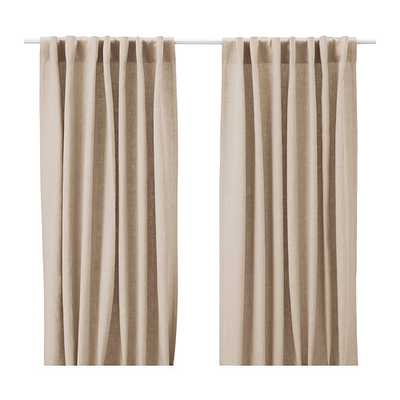 AINA Curtains, 1 pair - Ikea