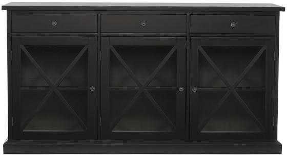 Hampton Sideboard - Worn Black - Home Decorators
