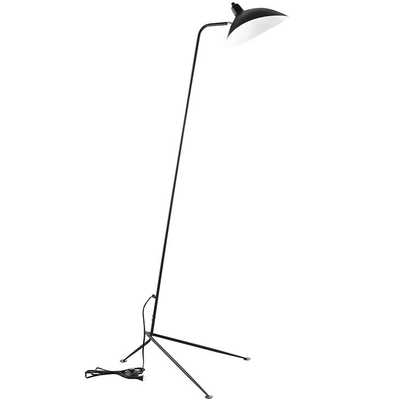 VIEW FLOOR LAMP IN BLACK - Modway Furniture