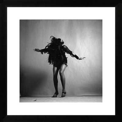 "Portrait Of Tina Turner - 28"" x 28"" - Matte Black Frame - Photos.com by Getty Images"