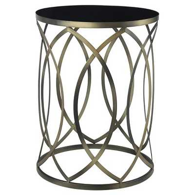 Gold Coast Round Accent End Table - Convenience Concepts - Target