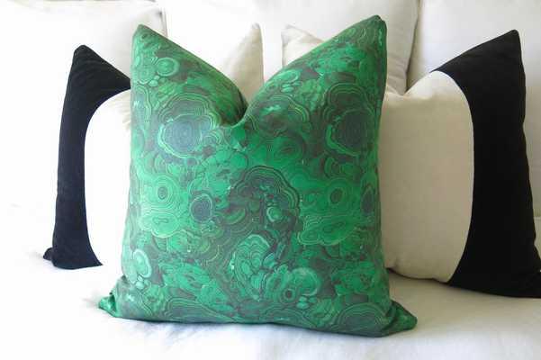 Malachite Pillow Cover - Willa Skye