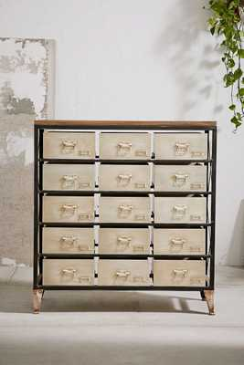 Industrial Storage Dresser - White - Urban Outfitters