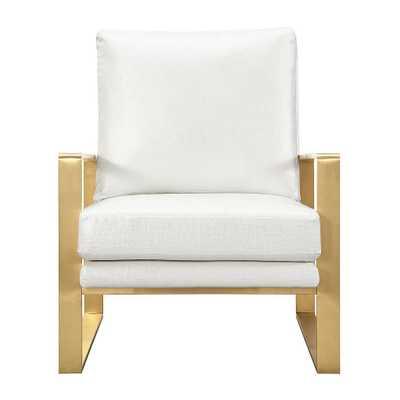Mercer Textured Chair in Pearl - Maren Home