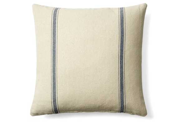 Striped Cotton Pillow - With Insert - One Kings Lane