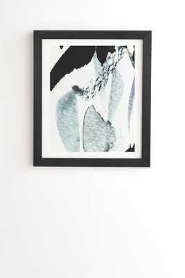 "ABSTRACTM5 Wall Art - 14""x16.5"" - Basic Black Frame - Wander Print Co."