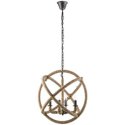 INTENTION CHANDELIER IN BROWN - Modway Furniture