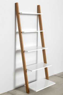 Leaning Bookcase - White - Urban Outfitters