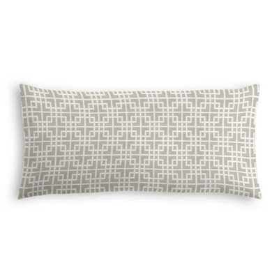 Lumbar Pillow  Interlocken - Pumice-down fill - Loom Decor