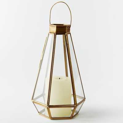 Faceted Lantern - Medium - West Elm