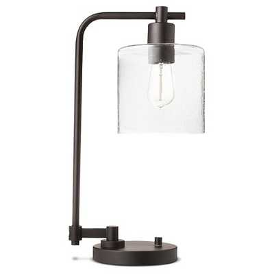 Hudson Industrial Desk Lamp - Ebony (Includes CFL Bulb) - Threshold™ - Target