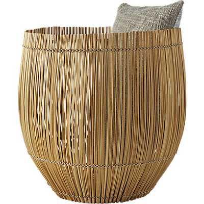 Yuzo Natural bamboo basket - CB2