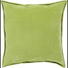 Cotton Velvet Pillow - Down Filler - Neva Home