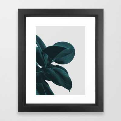 "Long way home Art Print - 10"" x 12"" - Vector Black Frame - Society6"