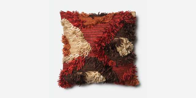 """P0411 SPICE - 22"""" x 22"""" Pilow Cover with Poly Insert - Loma Threads"""