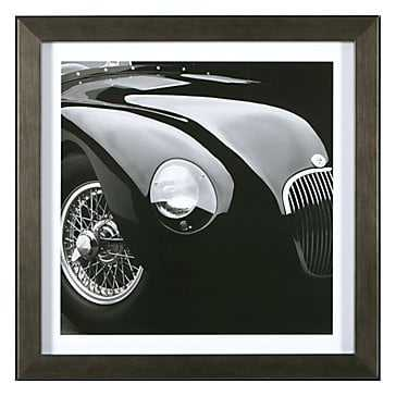 Jaguar C-Type- Framed with mat - Z Gallerie