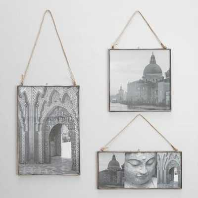 Oversized Metal Reese Frames- 14x14 - World Market/Cost Plus
