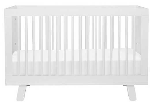 HUDSON 3-IN-1 CONVERTIBLE CRIB WITH TODDLER BED CONVERSION KIT - Babyletto
