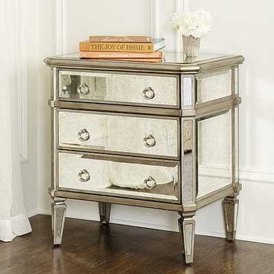 Deanna Mirrored Side Table - Ballard Designs