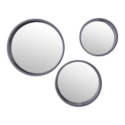 Daws 3 Piece Wall Mirror Set - Wayfair