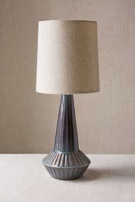 Laurel Canyon Ceramic Lamp -Blue - Urban Outfitters