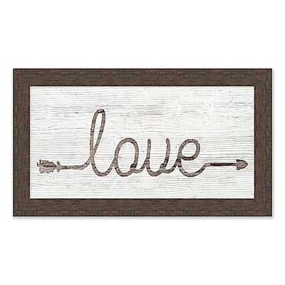 """Love"" Wall Art - Bed Bath & Beyond"