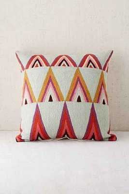 Assembly Home Mifflo Crewel Triangle Pillow - Polyfill - Urban Outfitters
