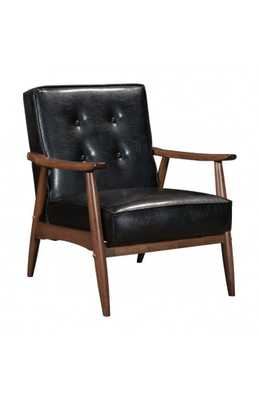 Rocky Arm Chair Black - Zuri Studios