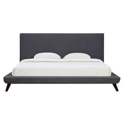 Nilson Morgan Linen Bed in King - Maren Home