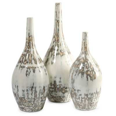 Hampton Mexican Pottery Set of 3 Vases - Set of 3 - High Fashion Home