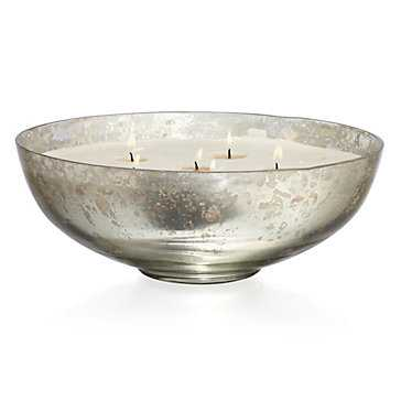 Mercury Bowl Candle - Z Gallerie