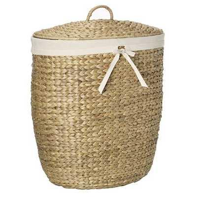 Tall Curved Basket - West Elm