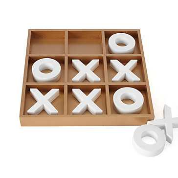 Tic Tac Toe Game - Z Gallerie