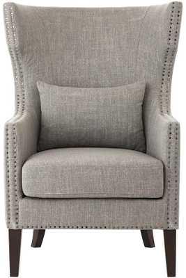 Bentley Club Chair - Linen smoke - Home Depot