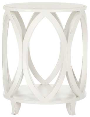 JANIKA ROUND ACCENT TABLE - Arlo Home