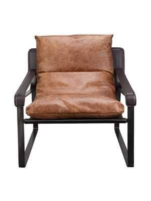 Chathan Club Chair - Brown - Lulu and Georgia