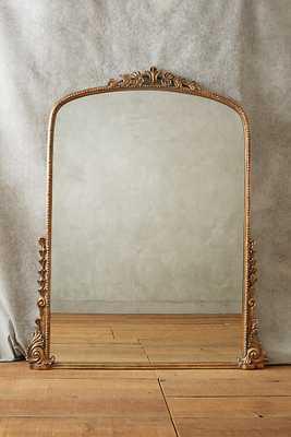 Gleaming Primrose Small Mirror - Gold - Anthropologie